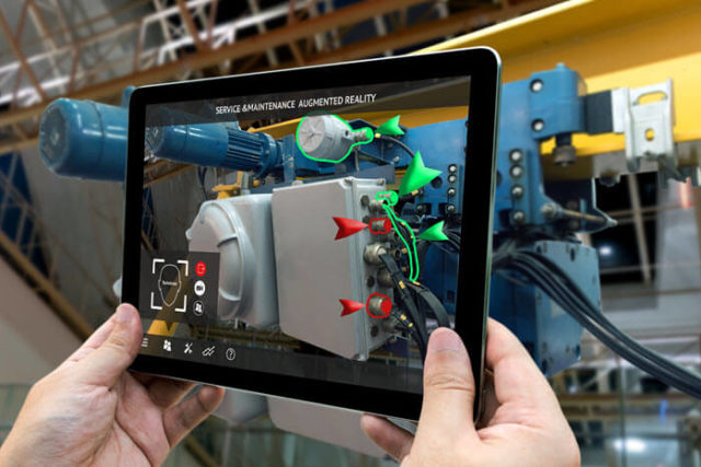 Using Augmented Reality Glasses to Improve Maintenance